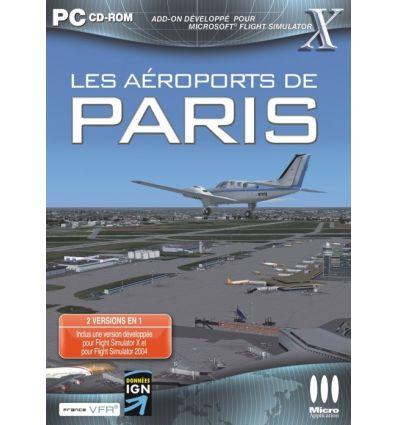 Les aéroports de Paris Add-on pour FS X