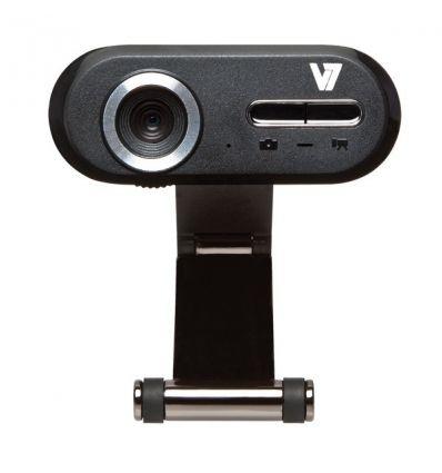 Webcam HD V7 CS720A0 1 Mégapixel Noir, Argent USB 2.0