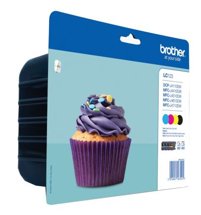 Cartouche brother LC123 multipack