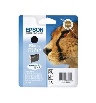 Cartouche d'Encre Epson DURABrite Ultra T0711 - Noir