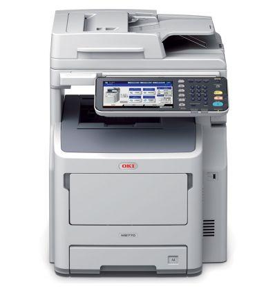 Imprimante Multifonction 3 en 1 Led monochrome MB770DN - 45387204 OKI