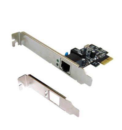 Carte réseau PCI Expres 100/1000Mbits Dual Profile n-313 ST Lab