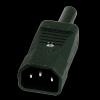 Fiche IEC-C13 Mâle 10A à monter