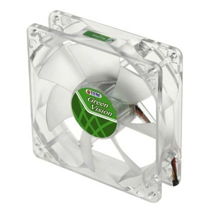 Ventilateur ultra silencieux Green Vision 92mm TFD-9225GT12Z-V2 Titan