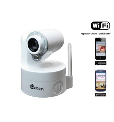 Camera IP motorise Wifi Heden V5,5 + alarme