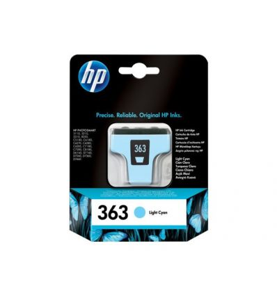 Cartouche d'encre HP HP363 Cyan clair