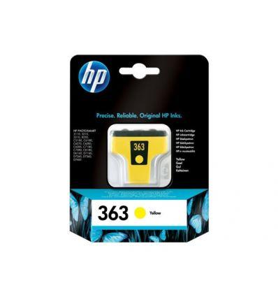 Cartouche d'encre HP HP363 Jaune