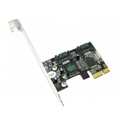 Carte PCI-E X1 sata II 300 2 channels STLab
