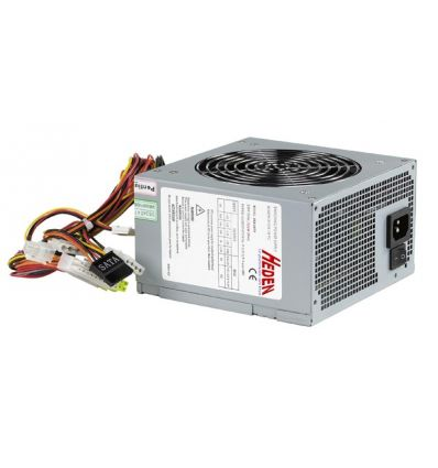 Alimentation ATX 500W silencieuse vent 120mm Heden