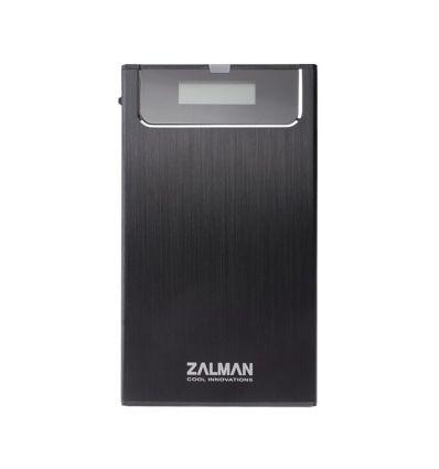"Boitier externe USB3 pour HDD sata 2,5"" iso ZM-VE300 (BLACK) Zalman"