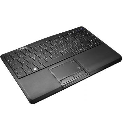 Clavier sans fil avec touch pad Wireless Periboard-701 Perixx