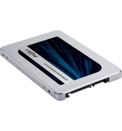 """SSD 2,5"""" Sata 500GB MX500 - lecteur à état solide - SATA-III CT500MX500SSD1 Crucial"""