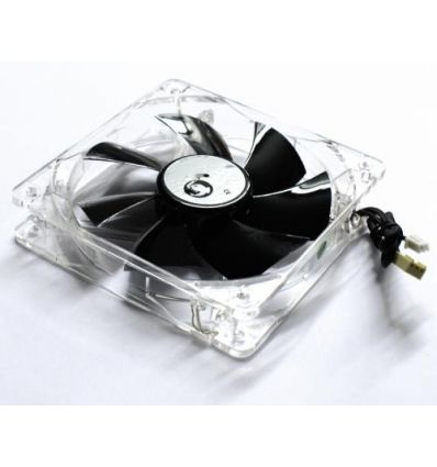 Ventilateur de 120x120x25mm Led Blanche Vitesse ajustable BB-FAN 120 LED WH BoogieBug
