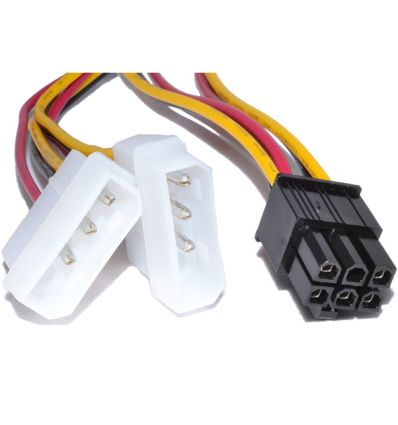 Cable alimentation carte graphique 6 pin