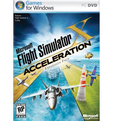 Flight Simulator X Accélération Microsoft